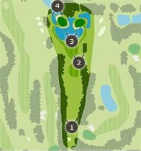 霞台カントリーゴルフクラブのコースレイアウト2