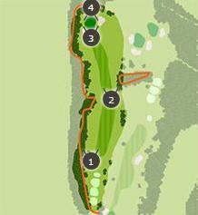 おおむらさきゴルフ倶楽部のコースレイアウト2