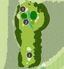 こだまゴルフクラブのコースレイアウト画像1