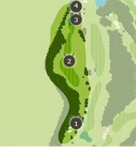 アクアラインゴルフクラブのコースレイアウト2
