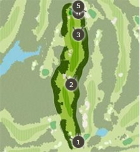 アクアラインゴルフクラブのコースレイアウト3