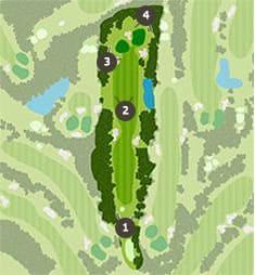 千葉新日本ゴルフ倶楽部のコースレイアウト2