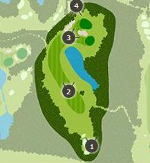 ロイヤルスターゴルフクラブのコースレイアウト2