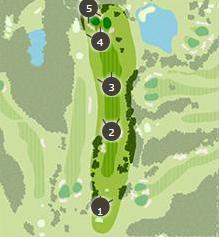 ロイヤルスターゴルフクラブのコースレイアウト3