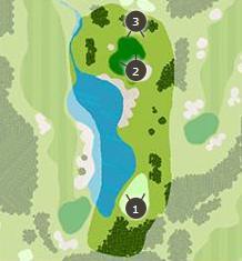 デイスターゴルフクラブのコースレイアウト画像1
