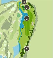 デイスターゴルフクラブのコースレイアウト2