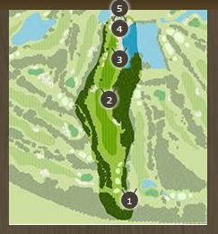 デイスターゴルフクラブのコースレイアウト3