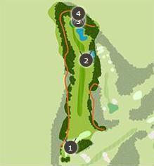 ミルフィーユゴルフクラブのコースレイアウト2