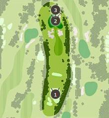 御殿場ゴルフ倶楽部のコースレイアウト画像1