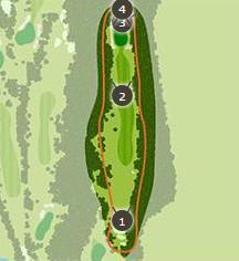 御殿場ゴルフ倶楽部のコースレイアウト2